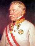 Фельдмаршал Радецкий. Портрет работы Г. Декера, 1850 г.