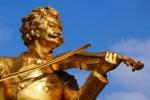 Памятник королю вальса Иоганну Штраусу в Вене